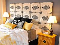 Изголовье кровати в спальне — каким оно должно быть? 100 фото новинок!