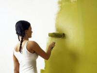 Как красить стены — превращаемся в профи после пары простых уроков + 73 фото