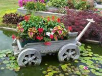 Как украсить сад — самые простые и удачные современные решения + фото