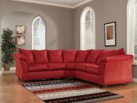 Красный диван в интерьере — 78 фото умелого привлечения внимания к предмету зависти
