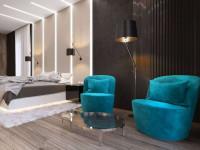 Кресло в интерьере спальни — элемент создания правильного акцента в комнате + фото