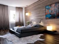 Ламинат на стены — творческий подход к замене дерева на стенах + фото