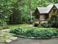 Ландшафтный дизайн коттеджа — фото простых способов создать красочный проект
