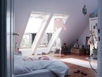 Мансардные окна — создаем естественный свет особой красоты + фото
