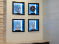 Ниша в стене — декоративные и функциональные исполнения в соответствии со стилем + фото