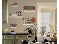 Оформление стен на кухне — 81 фото советов по приданию уюта и стиля