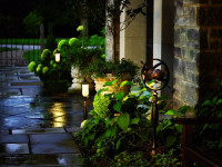 Освещение садового участка: 96 фото идей для вашего маленького рая