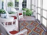 Плетеная мебель в интерьере — современные небольшие хитрости применения + фото