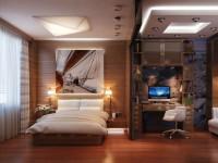 Рабочее место в спальне — 92 фото организации удобства офиса на дому