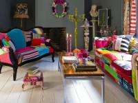 Разноцветный интерьер — надежный способ придать динамики стилю + 94 фото