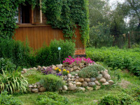 Рокарии и альпинарии на садовом участке — фото уникальных сочетаний камня и растений