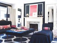 Синий цвет в интерьере — в поисках идеального очарования + 93 фото