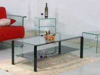 Стеклянная мебель в интерьере — выгодно используем удивительное разнообразие форм + фото