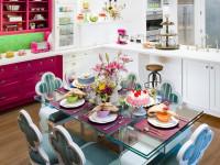 Стеклянный стол на кухне — выбираем лучшие и самые надежные столы + фото