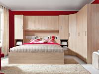 Угловой шкаф в интерьере спальни — поразительный отсек для всего необходимого + фото