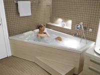 Прямоугольные ванны из акрила – симметрия и функциональность