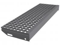 Большой выбор решетчатых ступеней для металлических лестниц