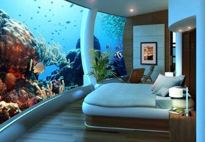 Akvariumyi v interere 16