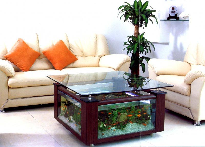 Akvariumyi v interere 17