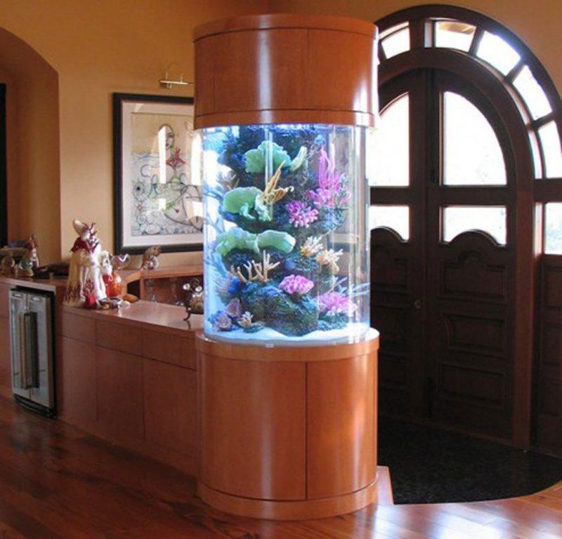 Akvariumyi v interere 18