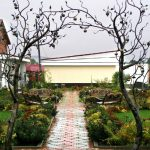 Arch in the garden 1