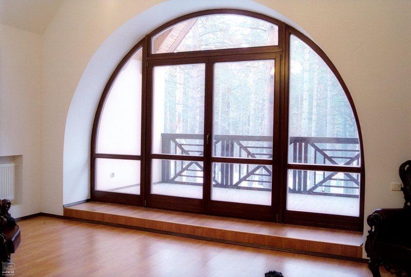 поразило грандиозное варианты нестандартных конструкций пластиковых окон это
