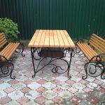 Garden benches 1 2