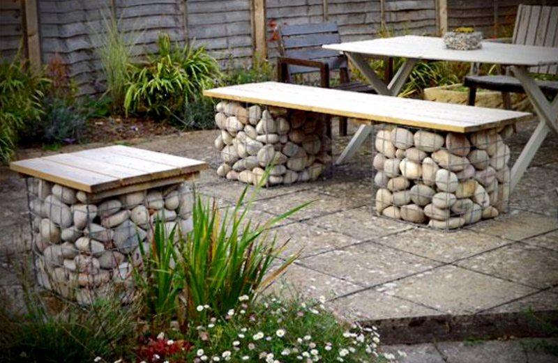 Garden benches 2 3
