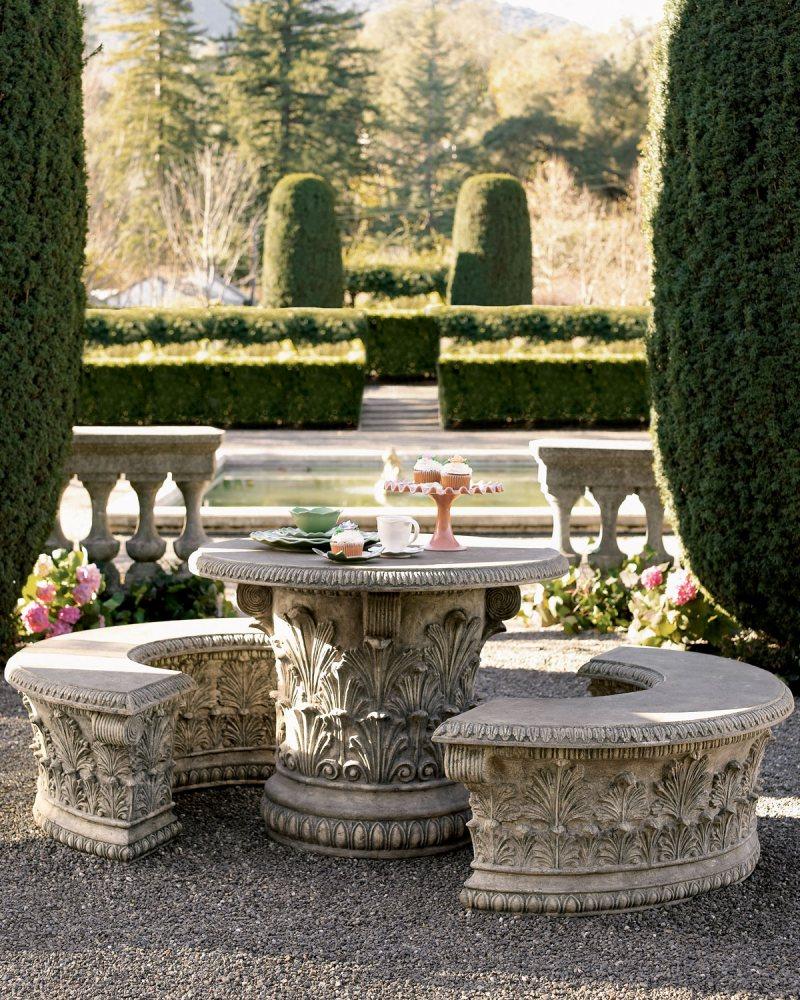Garden benches 3 3