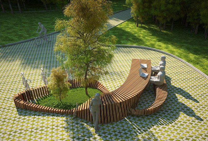 Garden benches 4 3