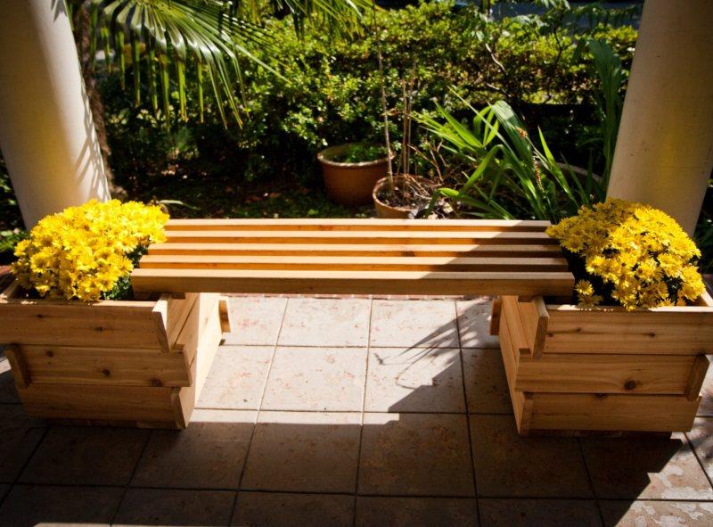 Garden benches 97