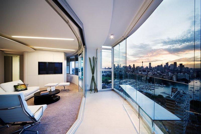 Interer balkona 13
