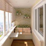 Interer balkona 2