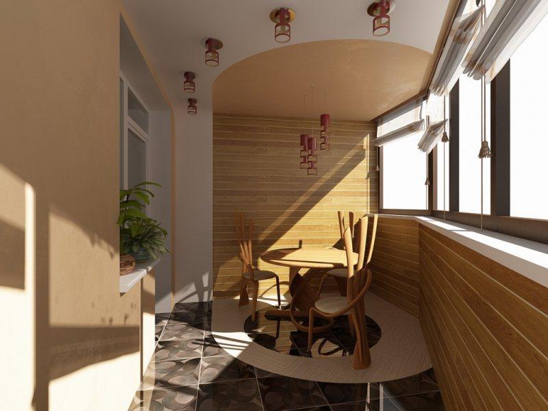 Interer balkona 22