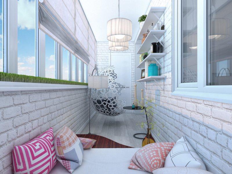 Interer balkona 29