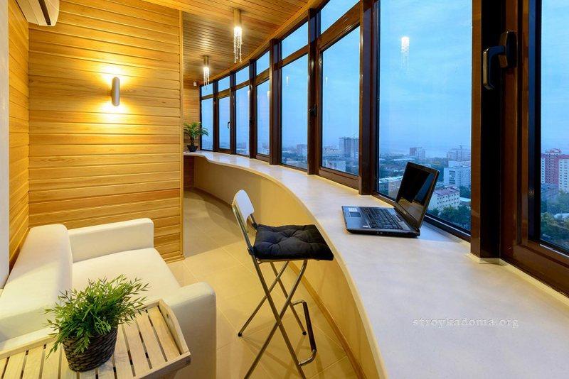 Interer balkona 57
