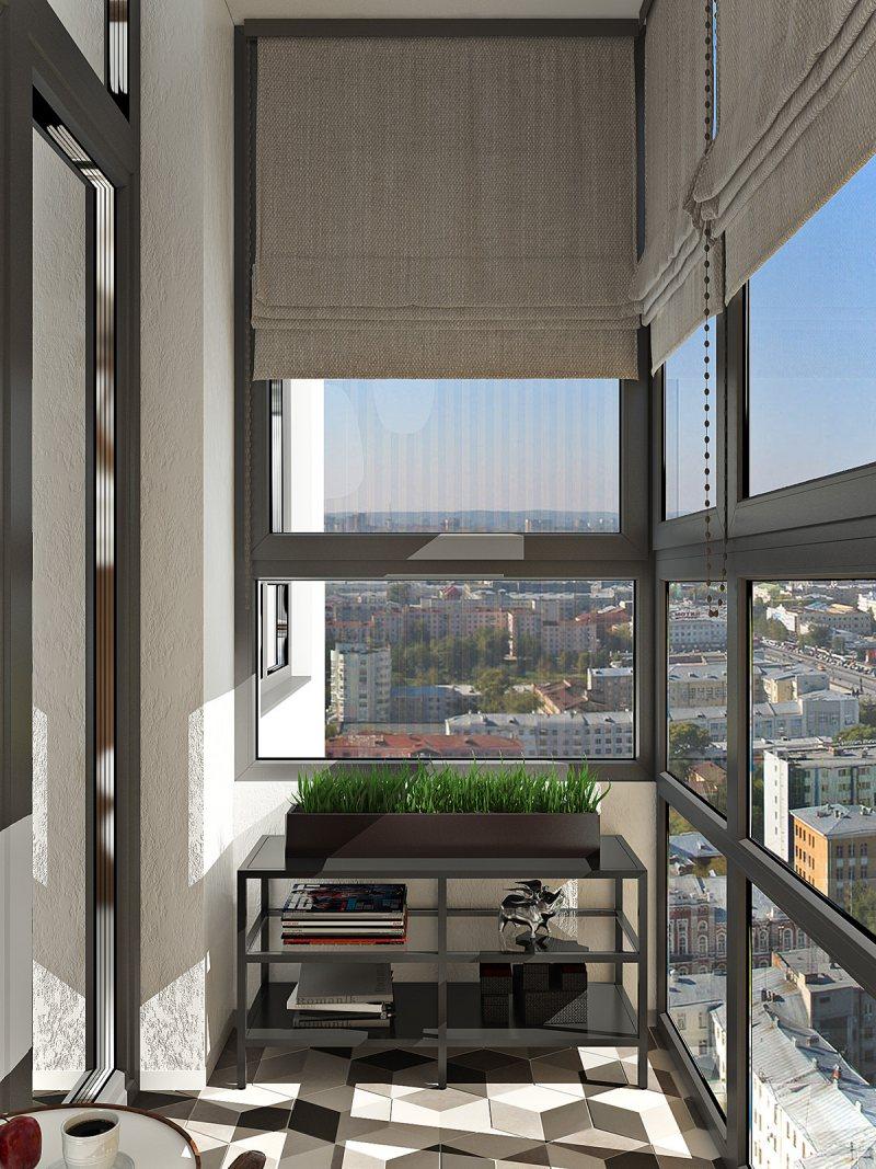 Interer balkona 61