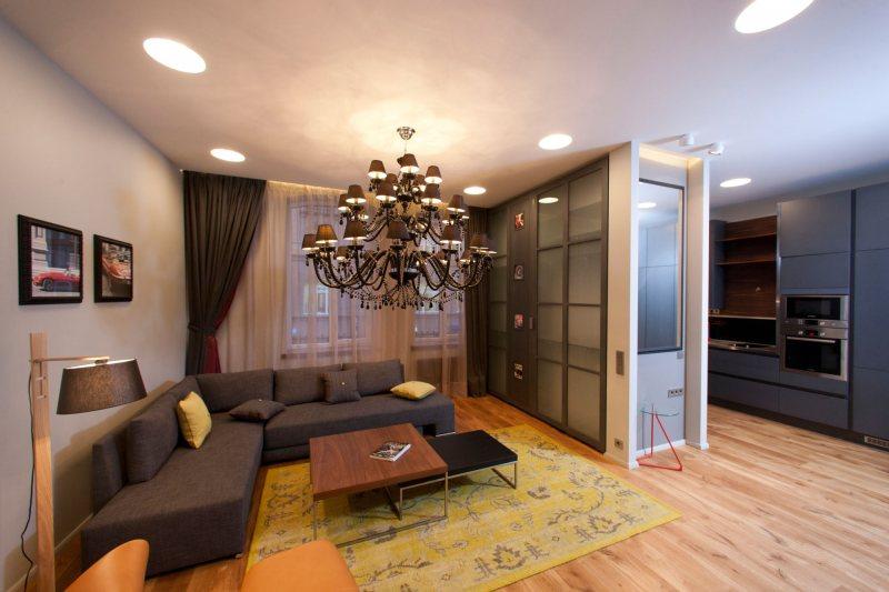 Картинки интерьера однокомнатной квартиры 20 кв.м фото