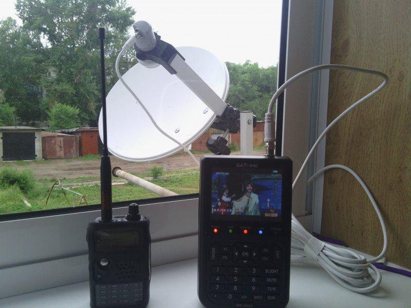 Прибор для спутниковых антенн своими руками