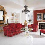 Krasnyiy divan v interere 32