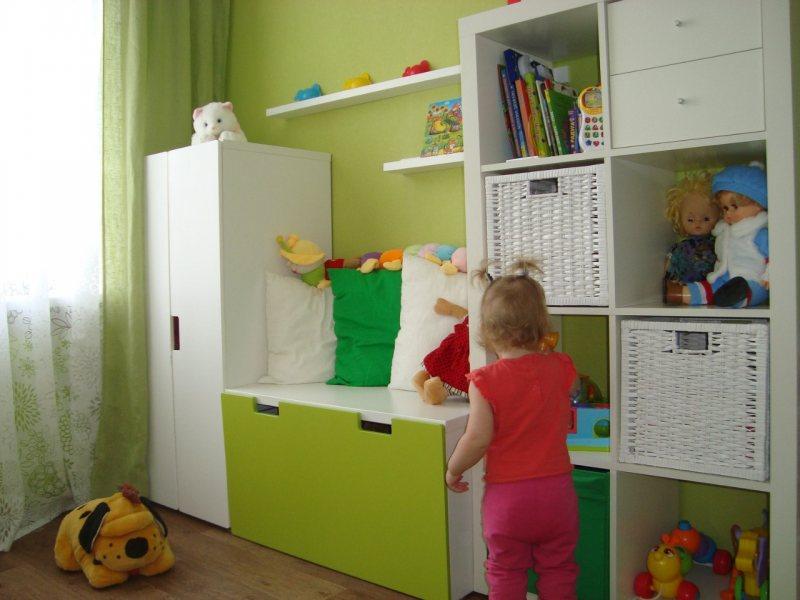 Мебель икеа в интерьере реальные фото детская