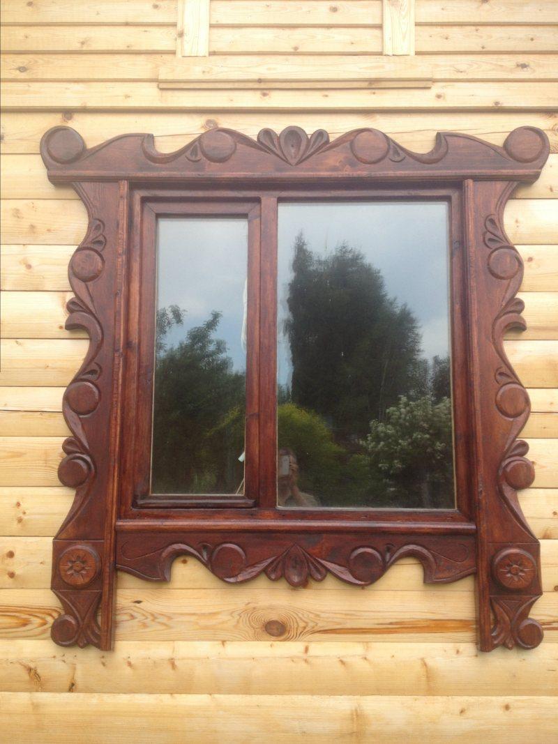 Наличники на окна своими руками деревянные, резные - Ремонт