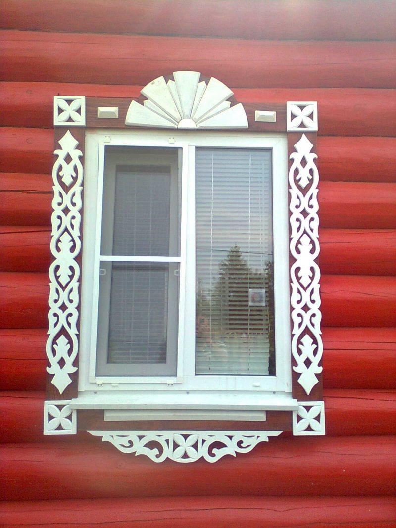 Простые наличники на окна своими руками фото