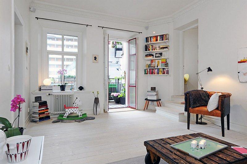 Skandinavskiy stil v interere 19