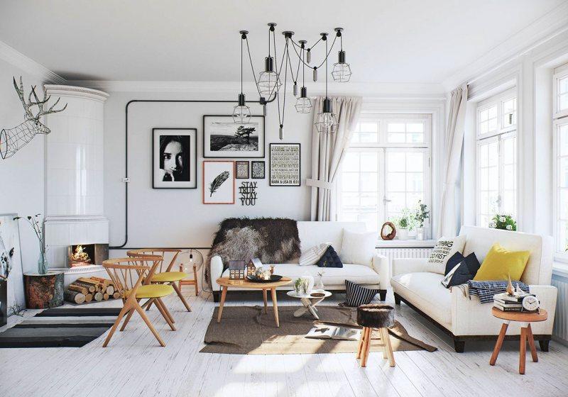 Skandinavskiy stil v interere 47