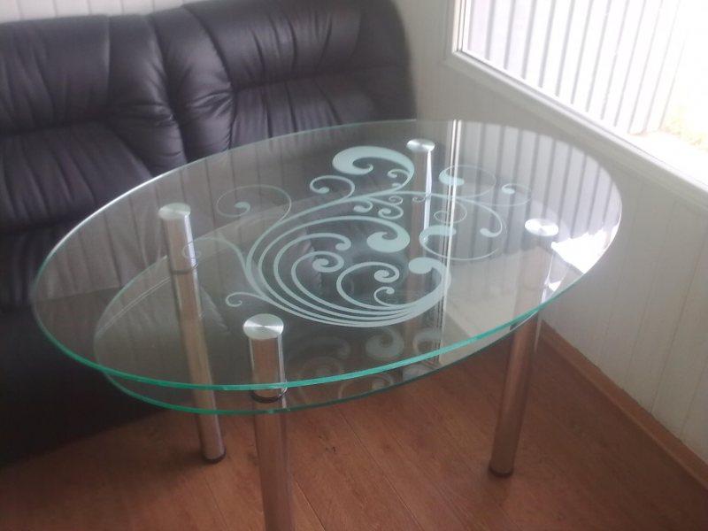 Как отремонтировать стеклянный стол