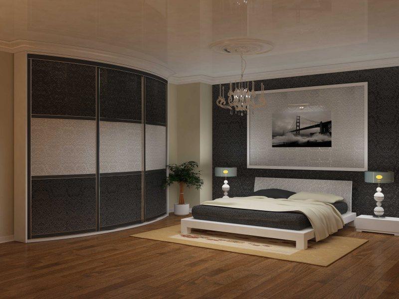 Uglovoy shkaf v interere spalni 31