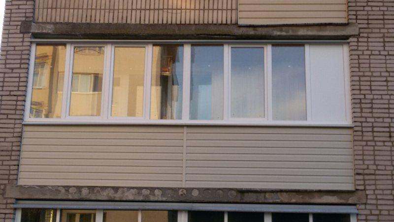 Ustanavlivaem balkonnyie ramyi 46