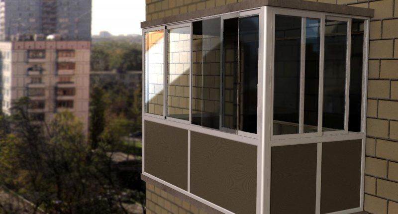 Ustanavlivaem balkonnyie ramyi 9 1