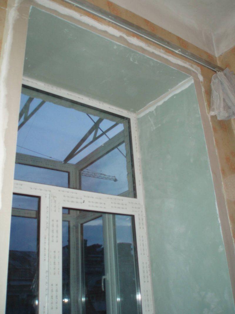 Ustanovka plastikovyih otkosov na okna 26